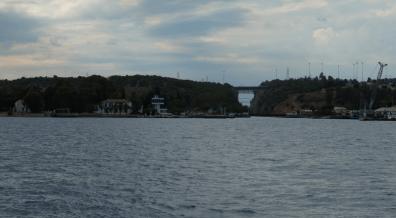 Istmijská strana a řídící věž