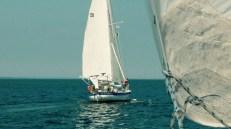 Plachtění na Long Island Sound