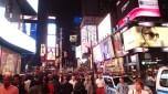 Noční New York, Time Square.