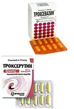 Фото Троксевазин да подобие Троксерутин