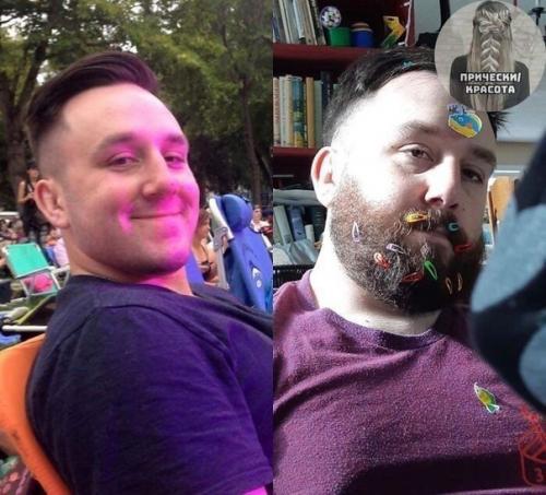 Немного фото до и после пождения детей. | Красивые прически
