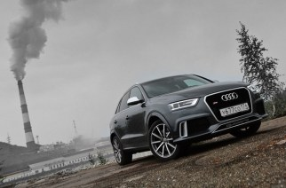 Audi RS Q3. Fast forward