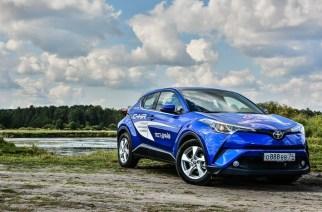 Toyota C-HR. Шестнадцать сантиметров имиджа