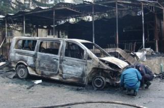 Сколько горит машин и почему