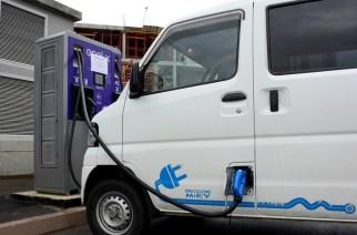 Тест первой в Челябинске сети электрозарядных станций