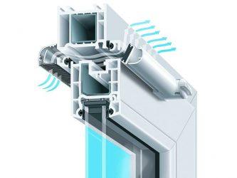 Проветривание пластиковых окон климатический клапан ...