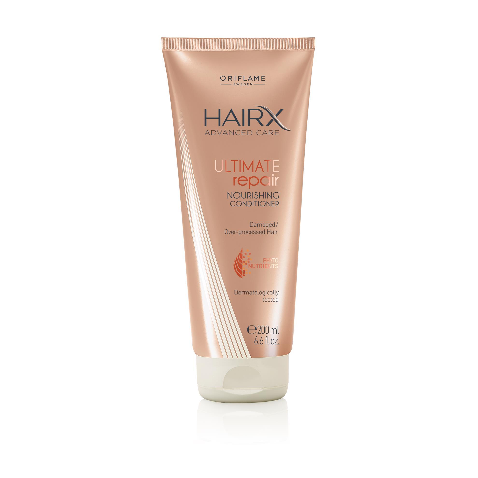 Восстанавливающий кондиционер для сухих и поврежденных волос HairX