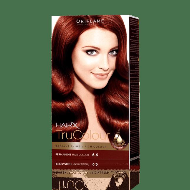Стойкая краска для волос «Цвет-Эксперт» Красное дерево