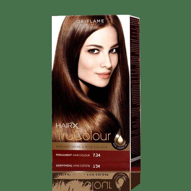 Стойкая краска для волос «Цвет-Эксперт» Медно-русый