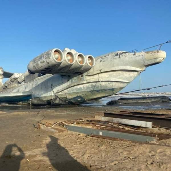 Монстр Каспийского моря — некогда великолепный экраноплан ...
