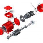 DRN 250 Motor Explosionsgrafik