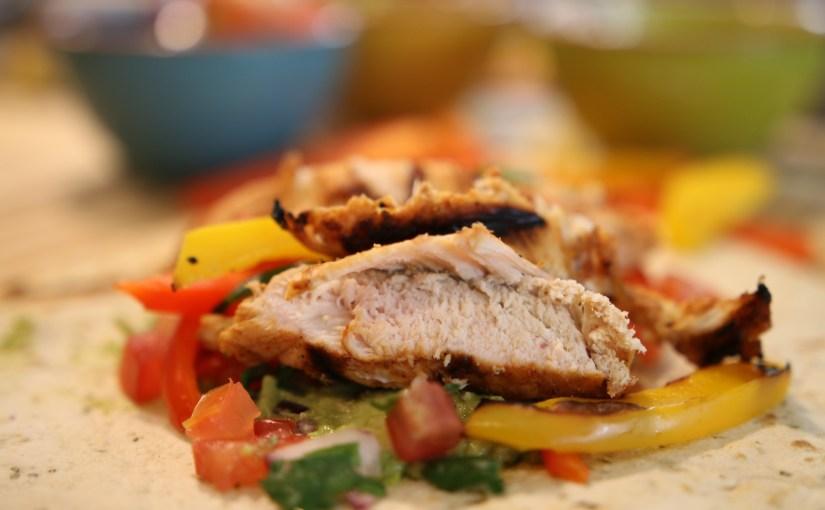 Chicken Fajitas – A DJ BBQ recipe for Food Revolution Day