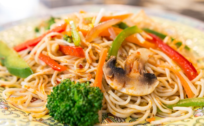 Schezwan Stir Fried Noodles