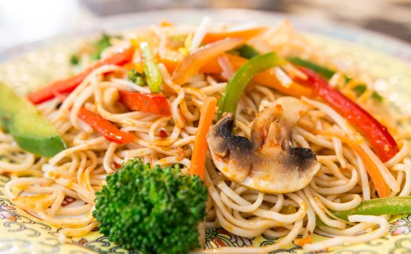 Schezwan Stir Fried Noodles