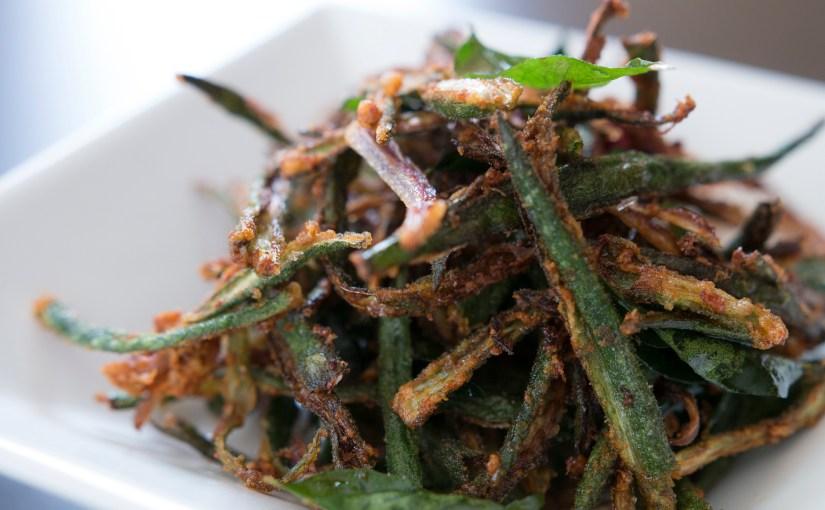 Bhindi Kurkure – Crispy Spiced Okra