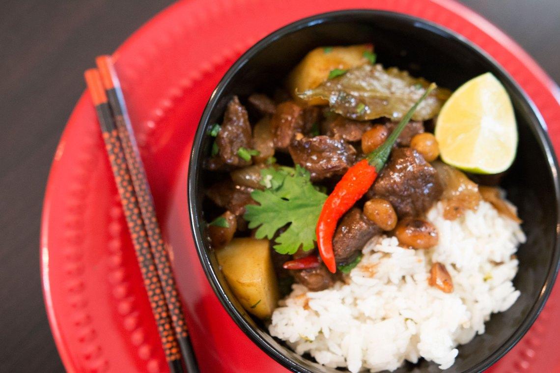 Thai Massaman Beef Curry - Kravings Food Adventures