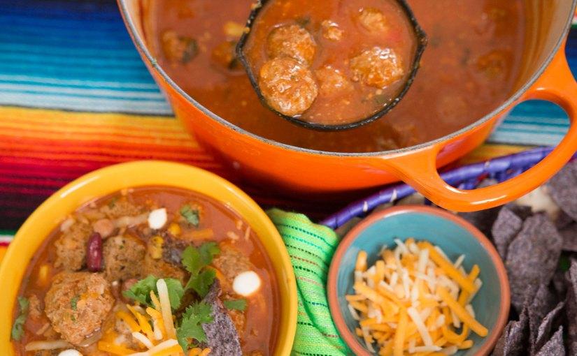 Fiesta Meatball Soup