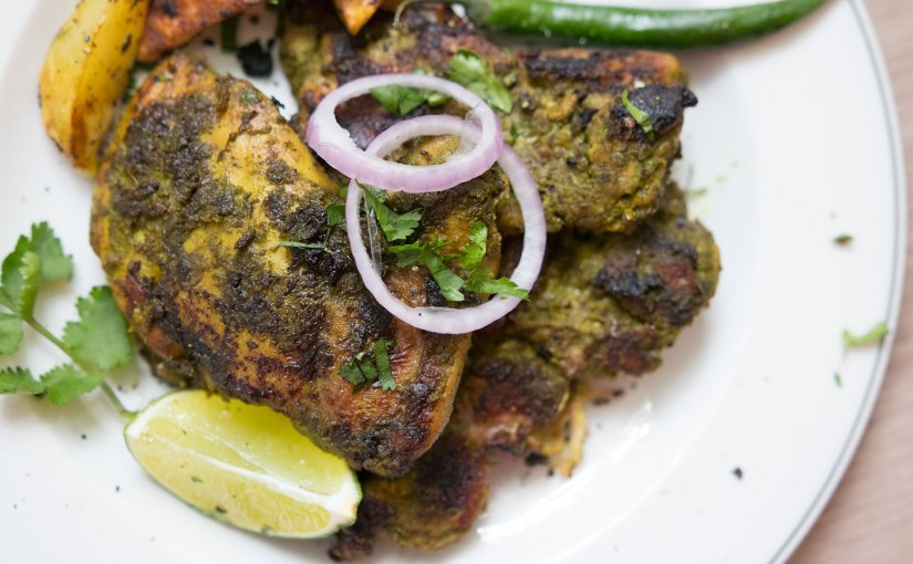 BBQ Chicken Cafreal