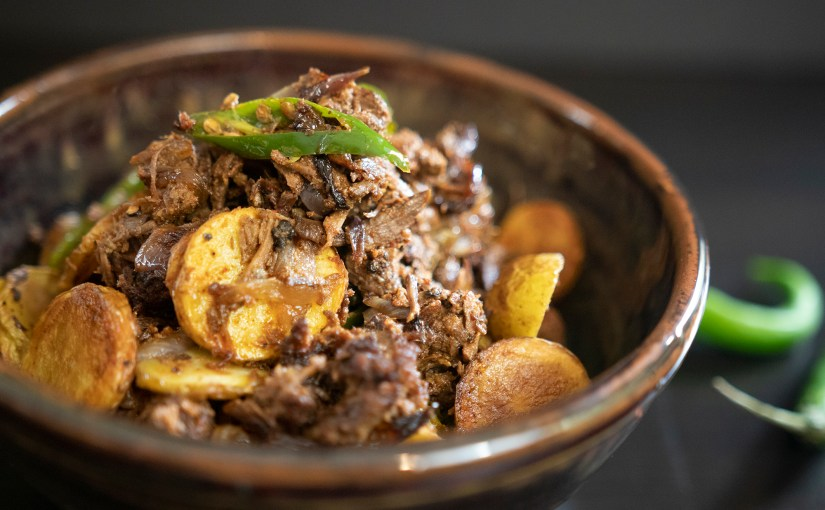 Beef Chilly Fry – Quick Pressure Cooker Recipe