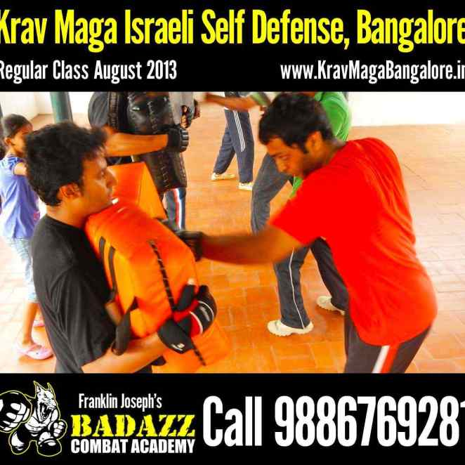 Sept. Krav Maga Israeli Self Defence Class