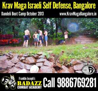 Getting ready in Dandeli Boot Camp Oct 2013