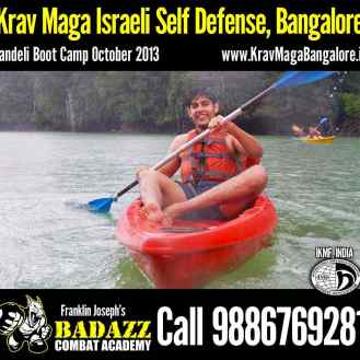 Chilling in Kayak : Dandeli Boot Camp Oct 2013