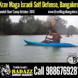 Enjoying Dandeli Boot Camp Oct 2013