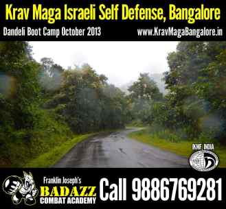 Way towards Dandeli Boot Camp Oct 2013