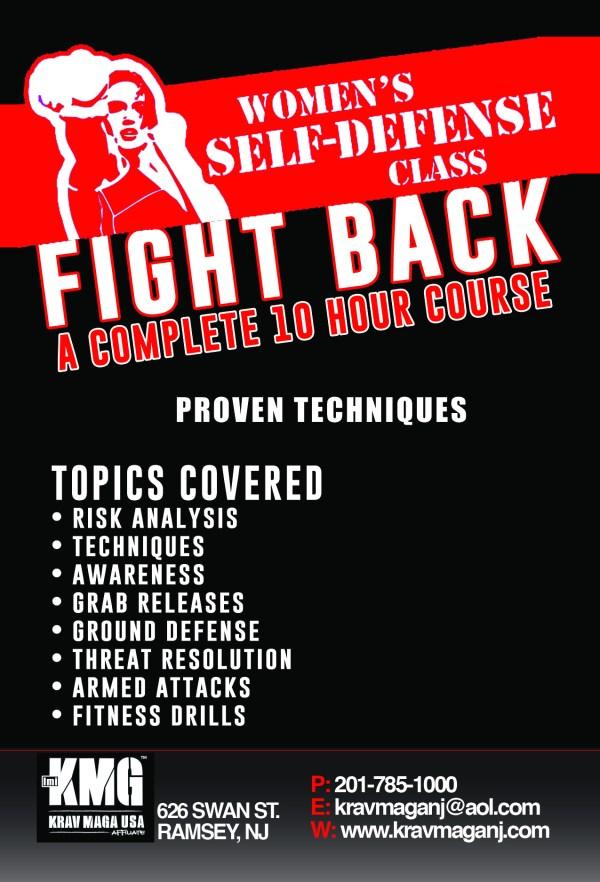 Womens Self Defense Classes - Krav Maga NJ - Ramsey, New ...
