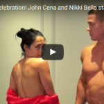 John Cena e Nikki Bella nudi per i followers youtube