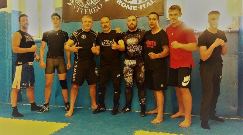 Lotta Libera per le MMA con il M° Hamid Mojtahedi