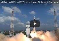 ISRO launched 104 satellites including 96 from United States