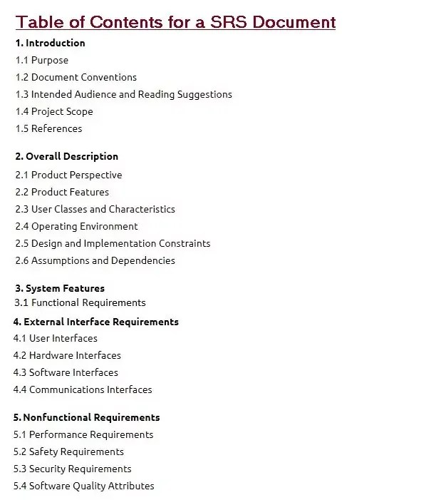 Software requirements document template most freeware.