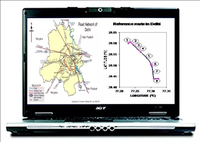 GPS as a reference guide