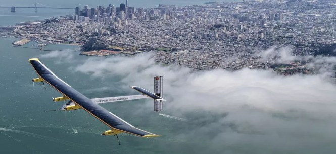 Solar impulse top view