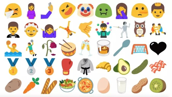 Wide range of New Emojis in Android 7.0 Nougat