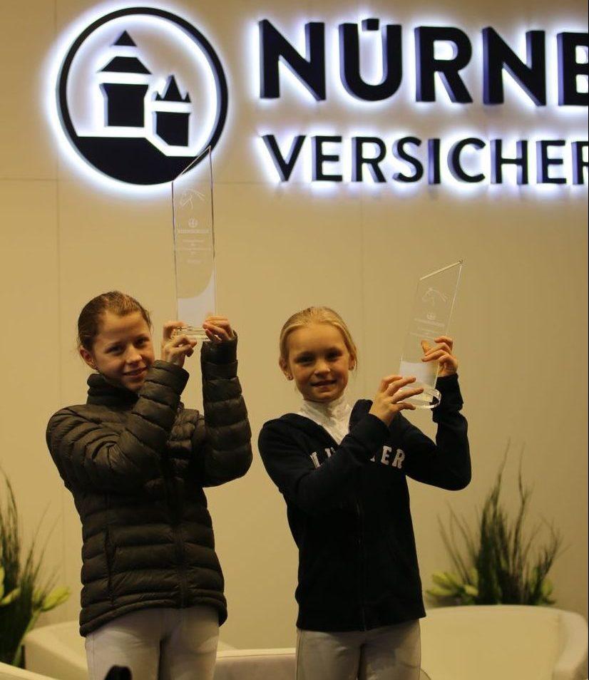 Ida Marie Schmitz und Elina Seidl siegreich in der Frankfurter Festhalle!