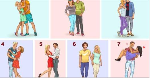 Šta mislite ko je najsretniji? Izaberite par koji mislite da je najsretniji a onda saznajte šta vas očekuje u ljubavi!