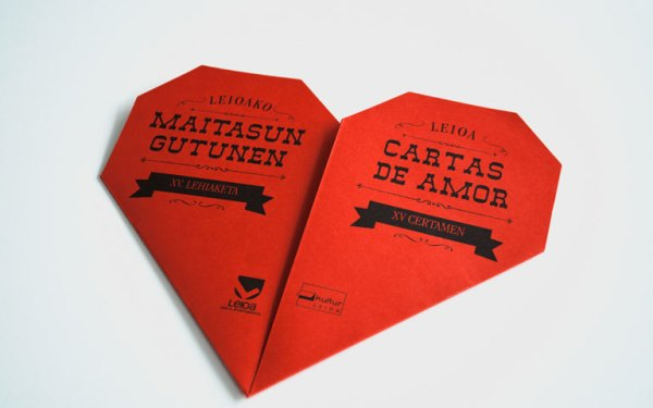 Folleto Cartas de Amor