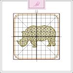 Freebie Friday ITH Rhino Coaster