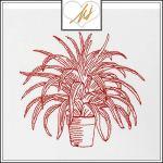 Redwork Pot plant
