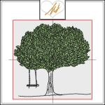 Red Twist collection – Tree with Swing