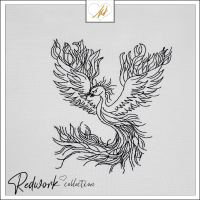 Redwork Phoenix