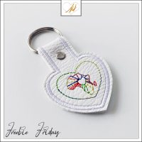Freebie Friday ITH ilove Africa key fob