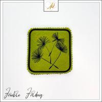 Freebie Friday ITH Dandelion Coaster