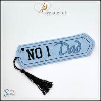 ITH No 1 Dad Bookmark