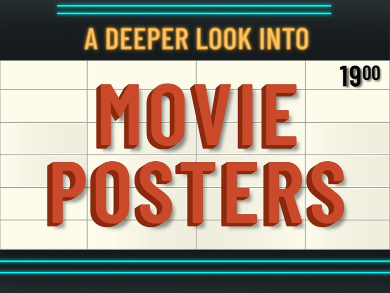 A Deeper Look Into Movie Posters