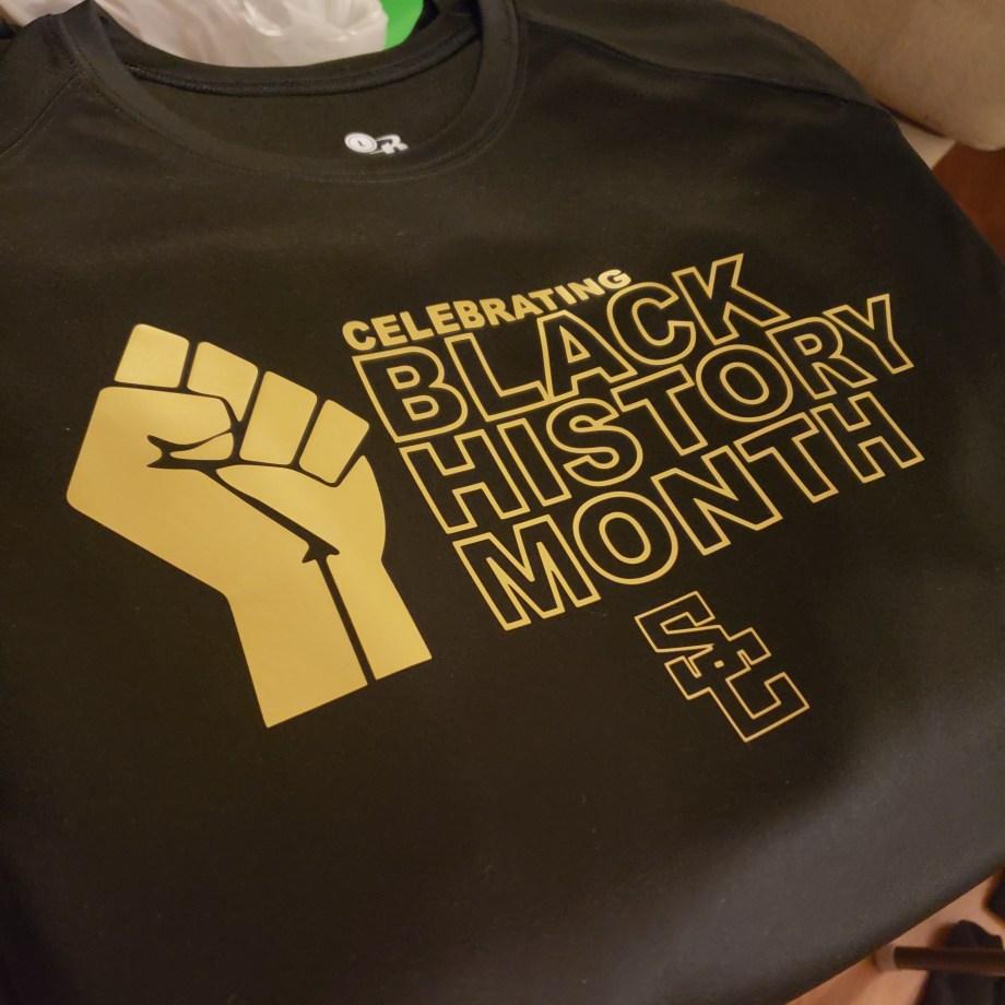 Celebrating Black History Month sweatshirt