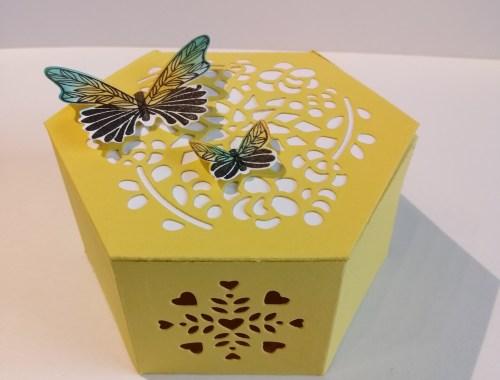 Fensterschachtel Schmetterling