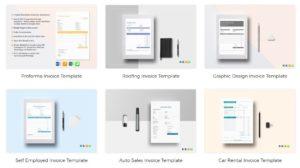 Designvorlagen für Rechnungen von Best Templates